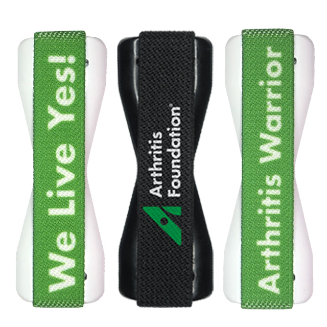 Share 3 Pack Arthritis Foundation LoveHandle Phone Grip