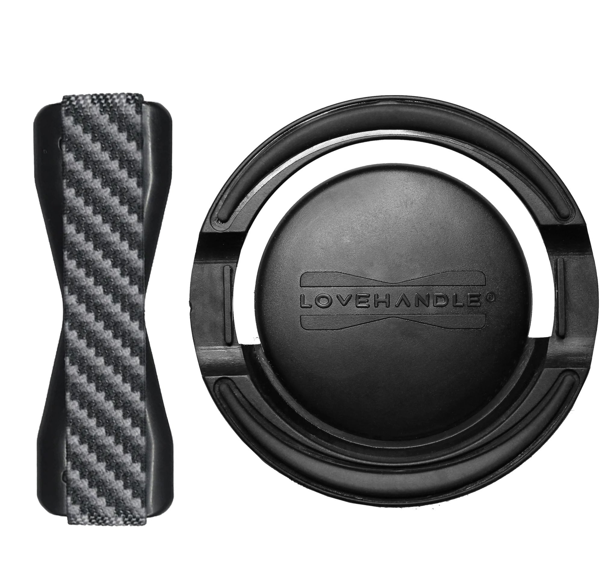 Carbon Fiber LoveHandle + Mount Combo