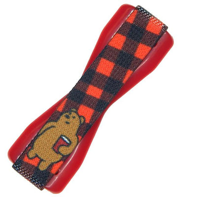 Plaid Party Bear Phone Grip