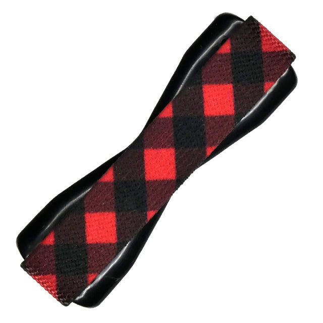 Red Flannel Phone Grip