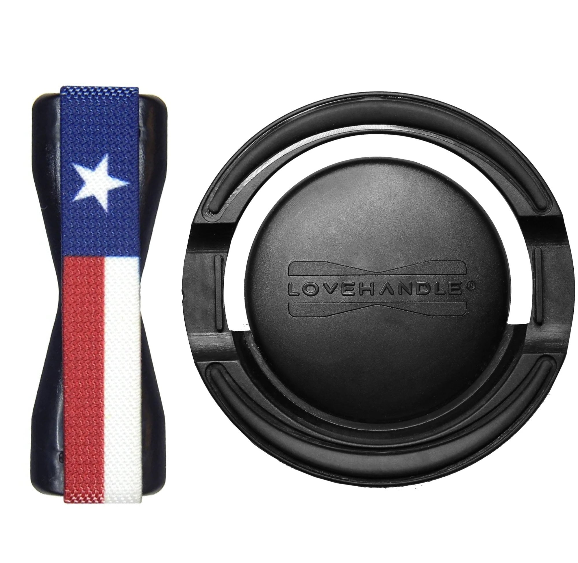 Texas Flag LoveHandle + Mount Combo
