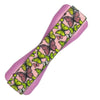 Butterfly Pattern Phone Grip with a pink base and a yellow and pink butterfly design.