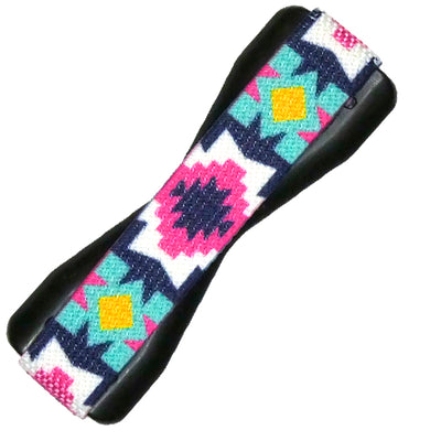 Colorful Aztec Phone Grip with Black Base