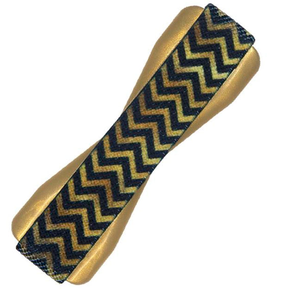 Gold Chevron Phone Grip