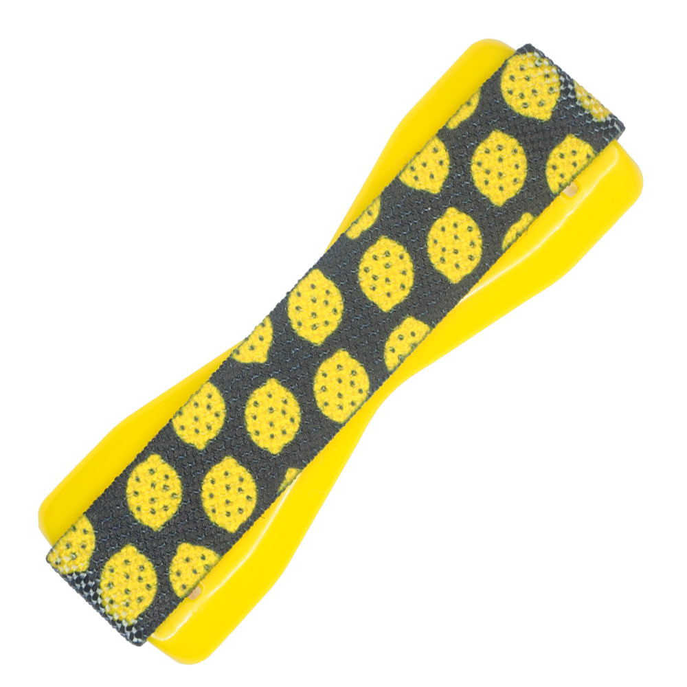 Lemon Gift Black Phone Grip