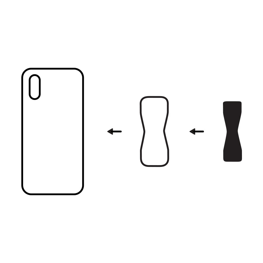 Glass Phone & Silicone Case Adhesive Adapter - LoveHandle Original