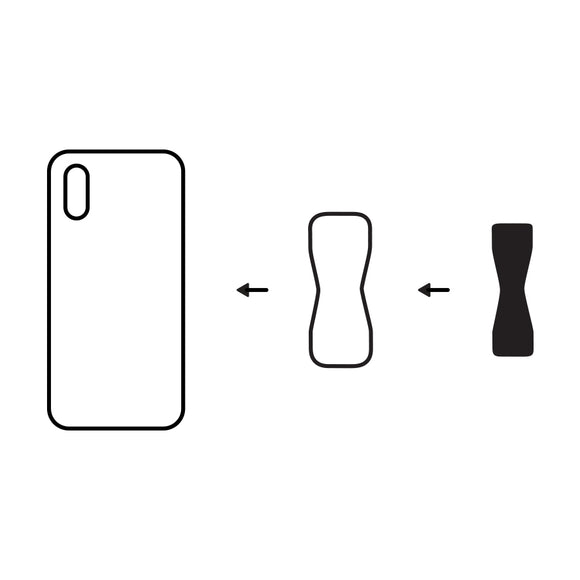 Glass Phone & Silicone Case Adhesive Adapter