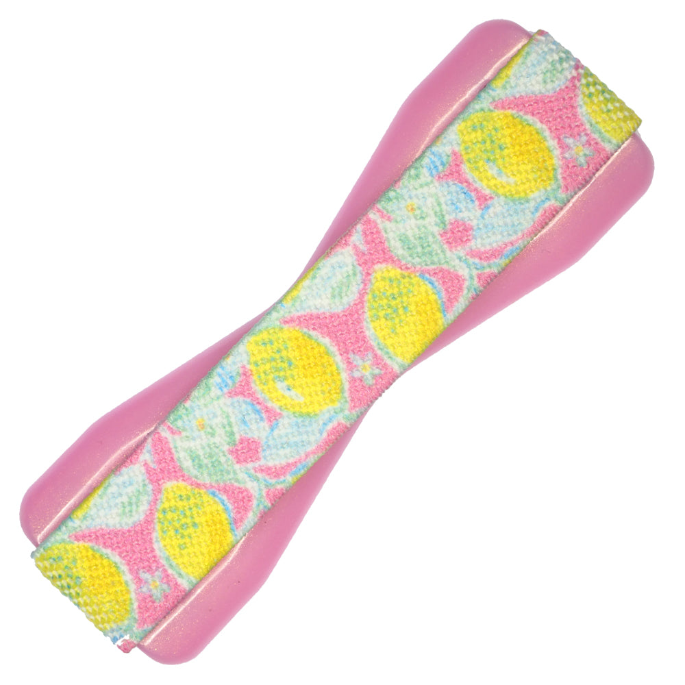 Preppy Lemon Pink Phone Grip