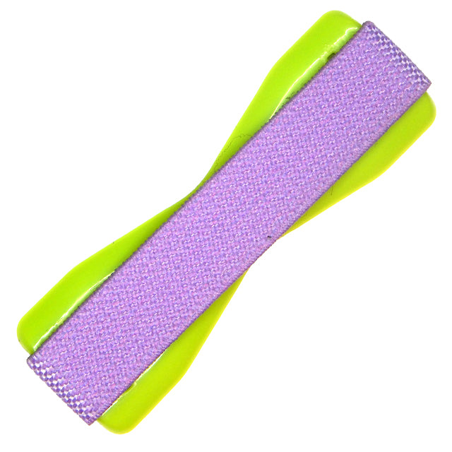Purple Lime Phone Grip