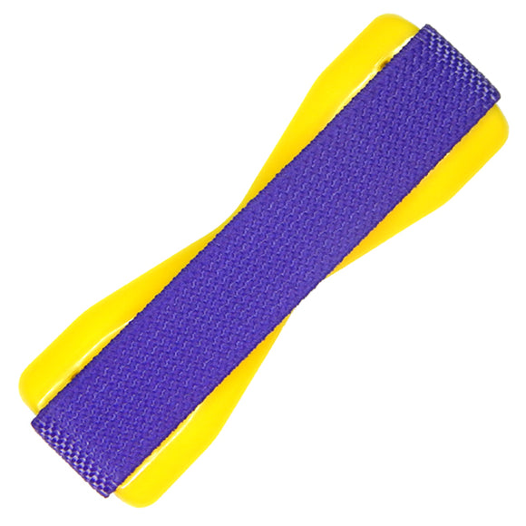 Purple Yellow Phone Grip