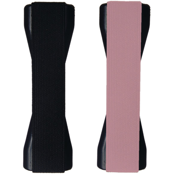LoveHandle XL Tablet Grip - 2 pack Black & Rose