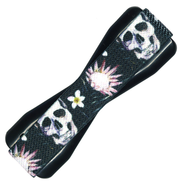 Skull Flowers Phone Grip