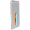 Light Blue Orange Phone Grip