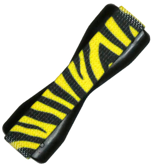 Zebra Skin Yellow Phone Grip