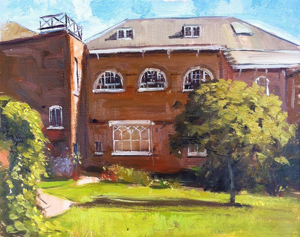 "Bar Convent, York, Oil on Board, 10"" x 8"""