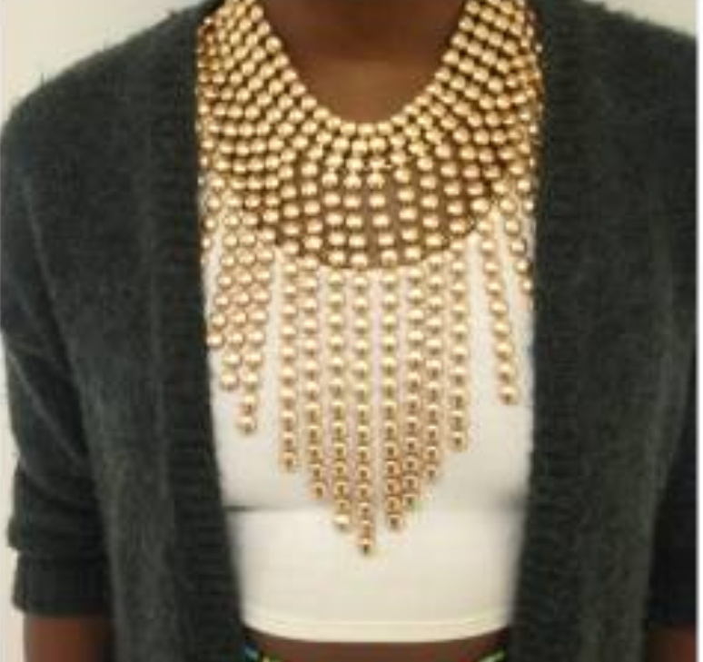 Bubble Drip Necklace