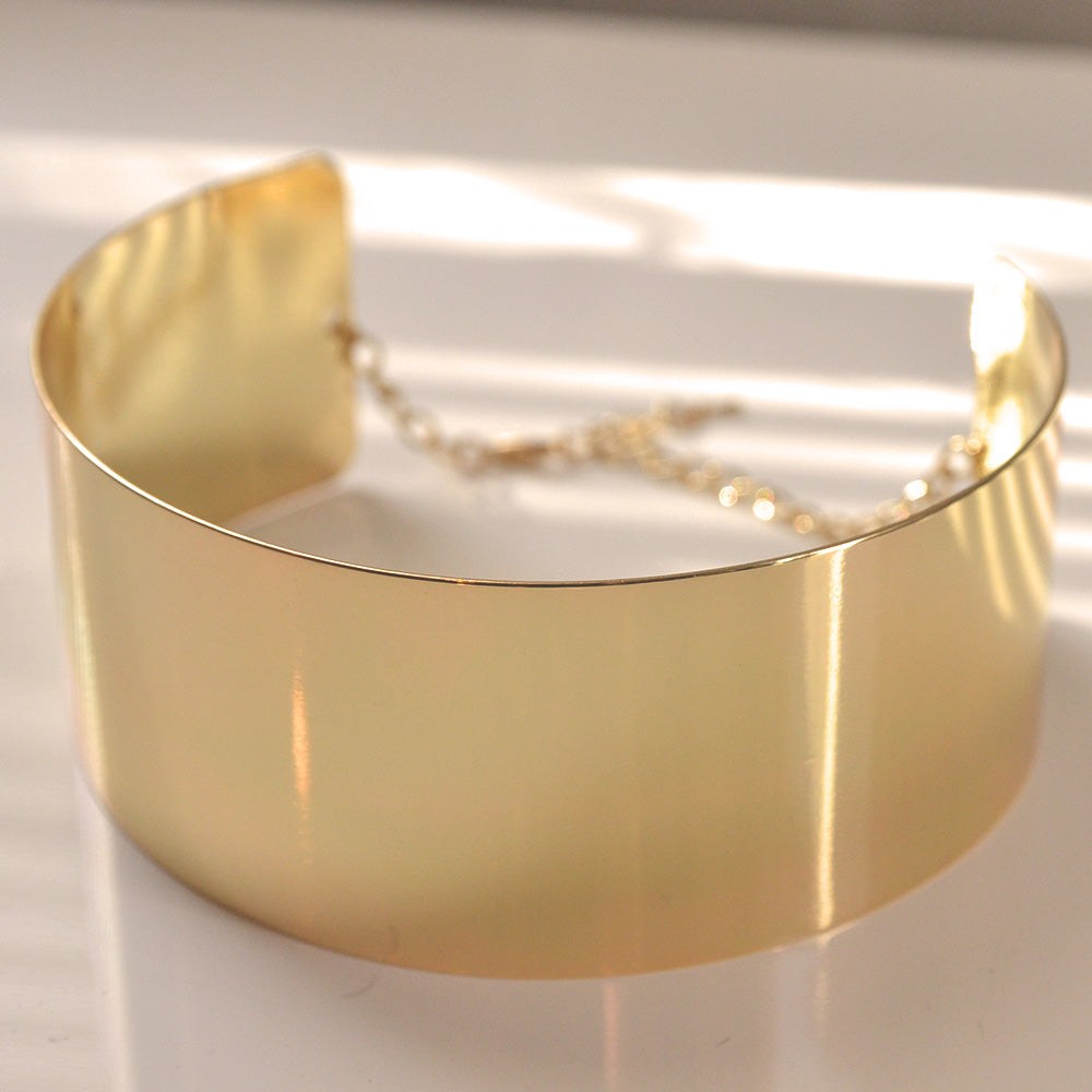 Princess Smooth Metal Choker