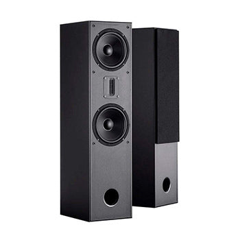 MP-T65RT Tower Home Theater Speakers with Ribbon Tweeter (Pair) by Monoprice