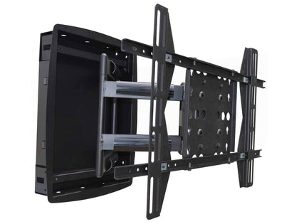 Monoprice Recessed Full-Motion Articulating TV Wall Mount Bracket For TVs 106cm to 160cm | Max Weight 200lbs, VESA Patterns Up to 800x500 Main Image