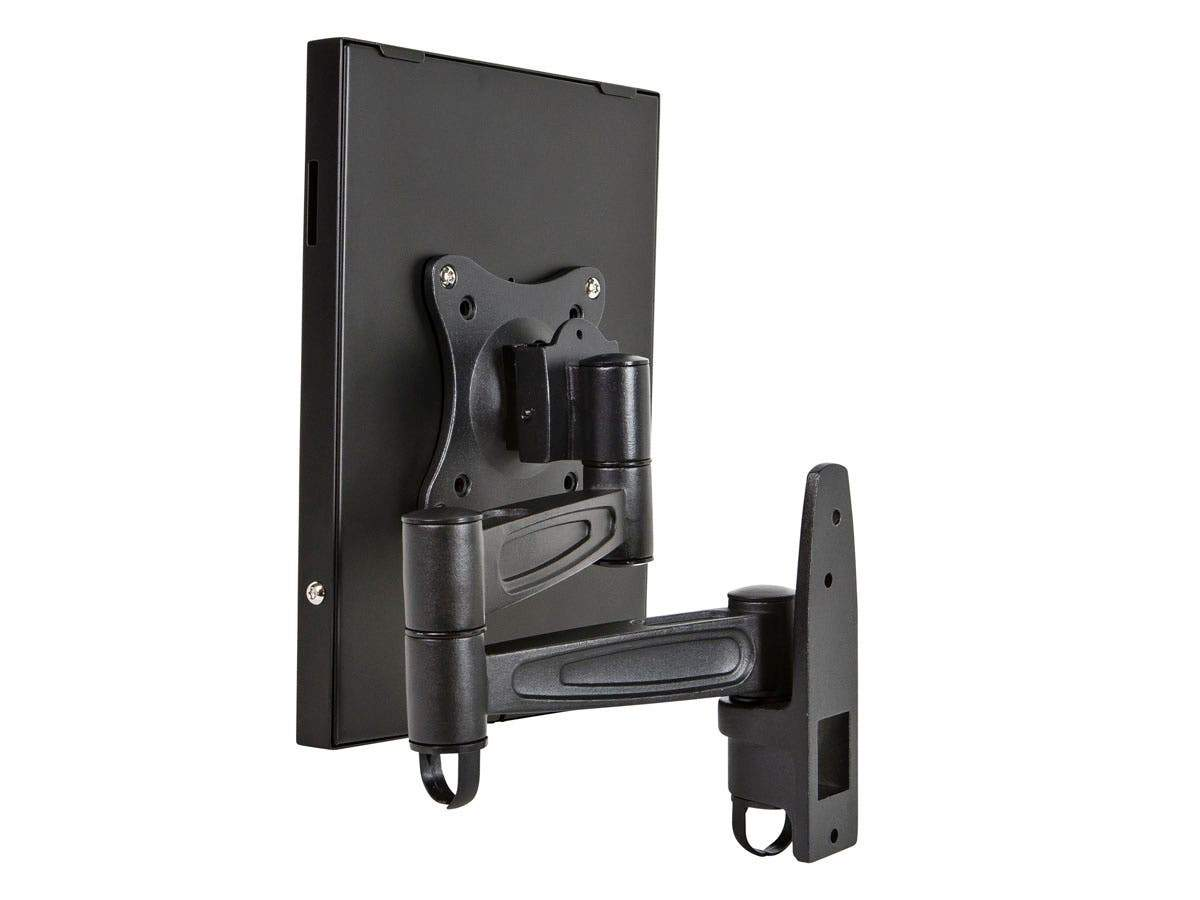 Monoprice Safe and Secure Wall Mount Display Stand for all 9.7in iPad, Black