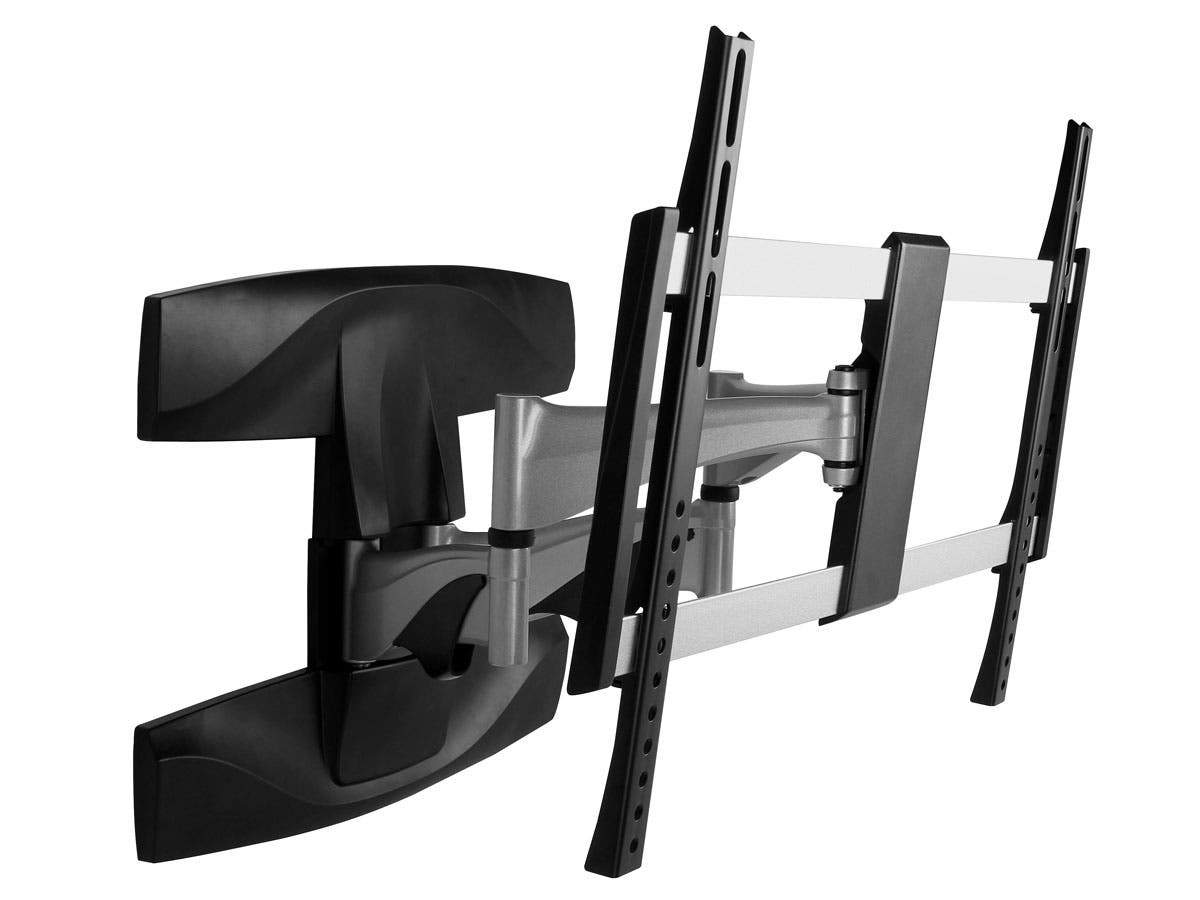 EZ Series Full-Motion Articulating TV Wall Mount Bracket For TVs 37in to 70in  Max Weight 99lbs  Extension Range of 2.1in to 17.6in  VESA Patterns Up to 600x400  UL Certified by Monoprice