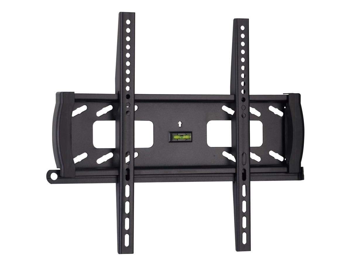 Monoprice Commercial Series Fixed TV Wall Mount Bracket For TVs 32in to 55in, Max Weight 99 lbs., VESA Patterns Up to 400x400, Security Brackets, UL Certified