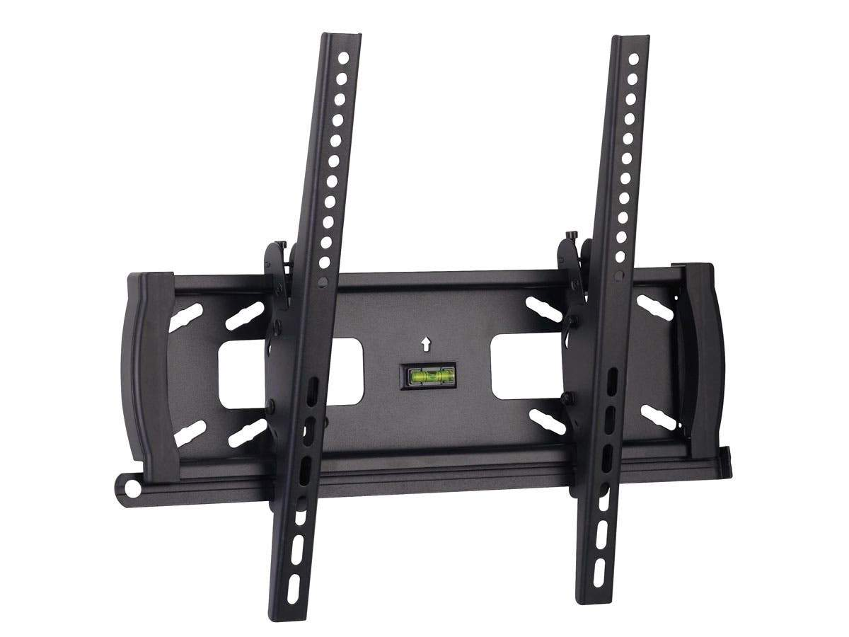 Monoprice Commercial Series Tilt TV Wall Mount Bracket For TVs 32in to 55in, Max Weight 99 lbs., VESA Patterns Up to 400x400, Security Brackets, UL Certified
