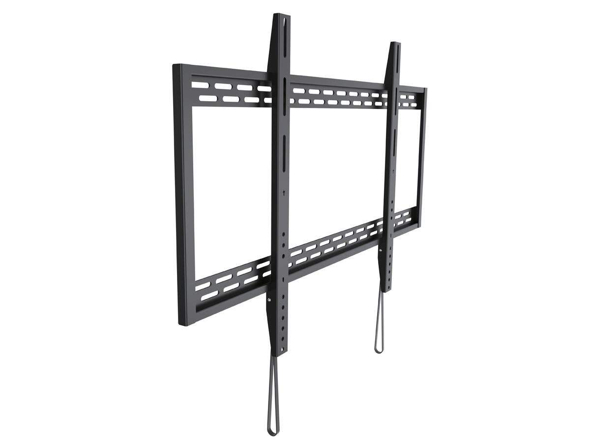 Stable Series Fixed TV Wall Mount Bracket for TVs 60 to 100 inches, Max Weight 100 kg (218 lbs), VESA Patterns Up to 900x600, Works with Concrete & Brick, UL Certified by Monoprice