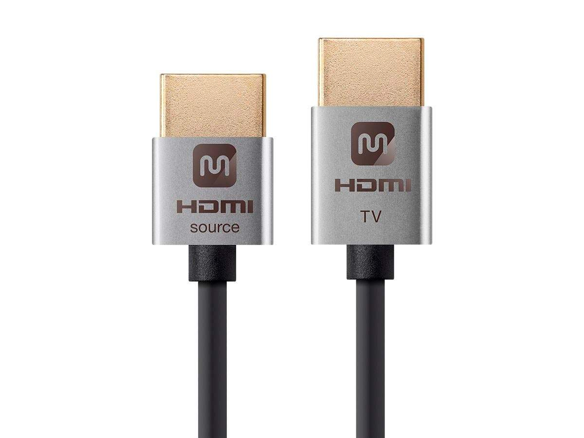Active High Speed HDMI Cable | 4K@60Hz | 18Gbps | 36AWG | YUV 4:2:0 | Ultra Slim Series