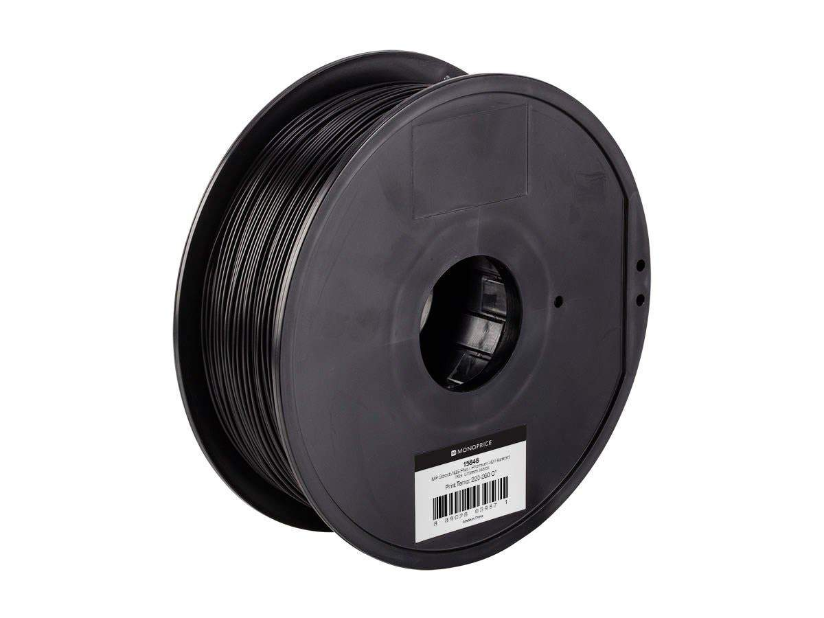 MP Select ABS Plus+ Premium 3D Filament  1kg 1.75mm by Monoprice