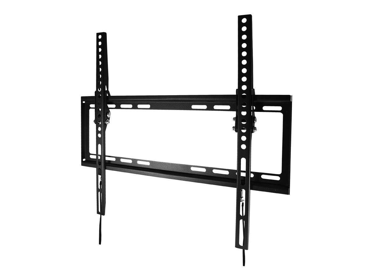 Monoprice EZ Series Tilt TV Wall Mount Bracket For TVs Up to 55in, Max Weight 77 lbs., VESA Patterns Up to 400x400, UL Certified