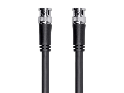 Monoprice HD-SDI RG6 BNC Cable - 0.5 Meters (1.5ft), For Use In HD-Serial Digital Video Transfer, Mobile Apps, HDTV Upgrades, Broadband Facilities, And Other Applications With HD-SDI Video - Viper Series Main Image