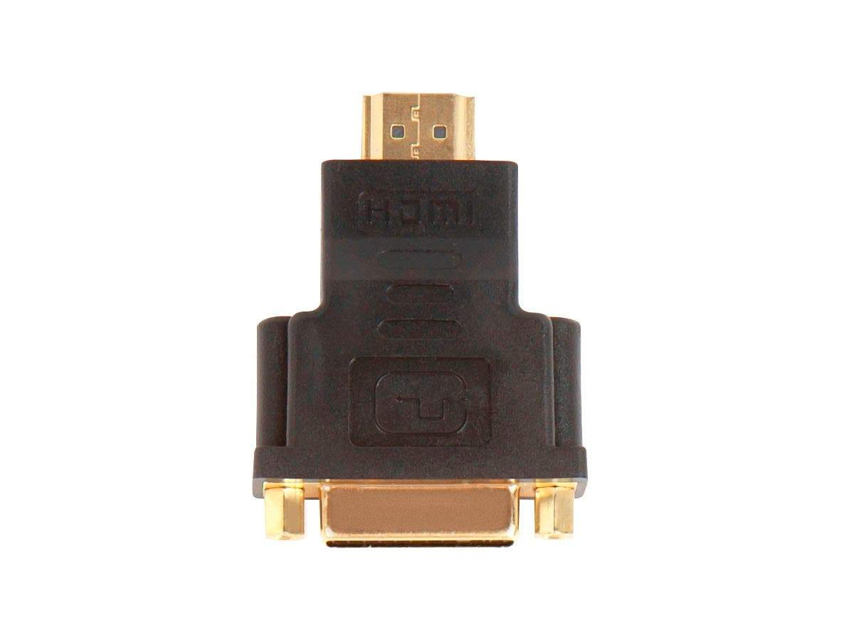 HDMI Male to DVI-D Single Link Female Adapter, Compatible to Computer's Video Card, DVD Player, Blu-Ray Disc Player by Monoprice
