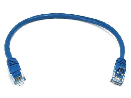 Monoprice Cat6 Ethernet Patch Cable - Snagless RJ45, Stranded, 550MHz, UTP, Pure Bare Copper Wire, 24AWG