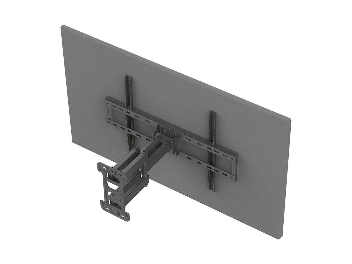 Monoprice Commercial Series Full-Motion Articulating TV Wall Mount Bracket For TVs 37in to 70in, Max Weight 99lbs, VESA Patterns Up to 600x400, Rotating