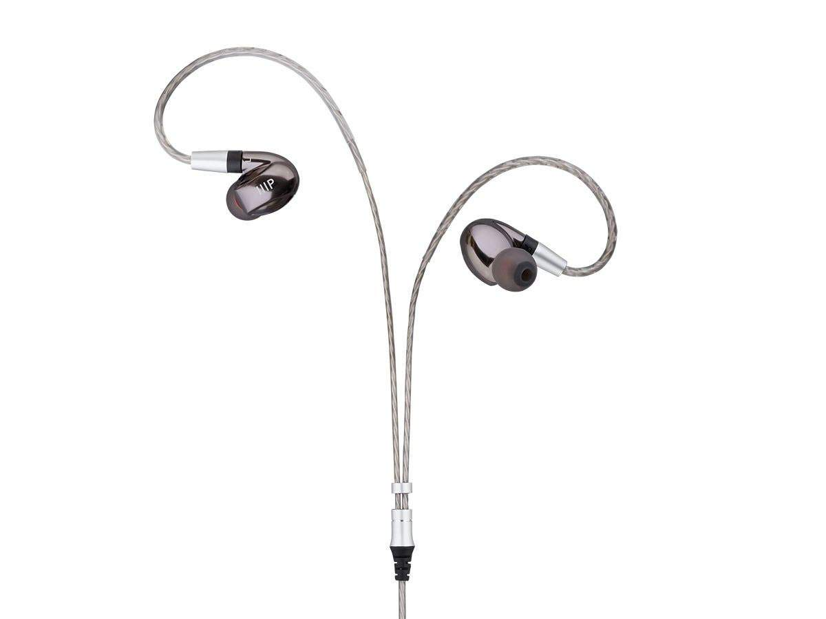 MP80 Aluminum In-Ear Earphone Balanced Armature Driver and Dynamic Driver with Three Tuning Nozzles