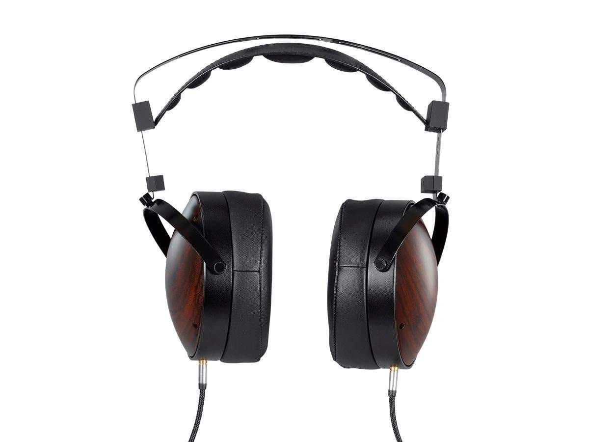 Monolith M1060C Over Ear Planar Magnetic Headphones - Black/Wood With 106mm Driver, Closed Back Design, Comfort Ear Pads For Studio/Professional by Monoprice