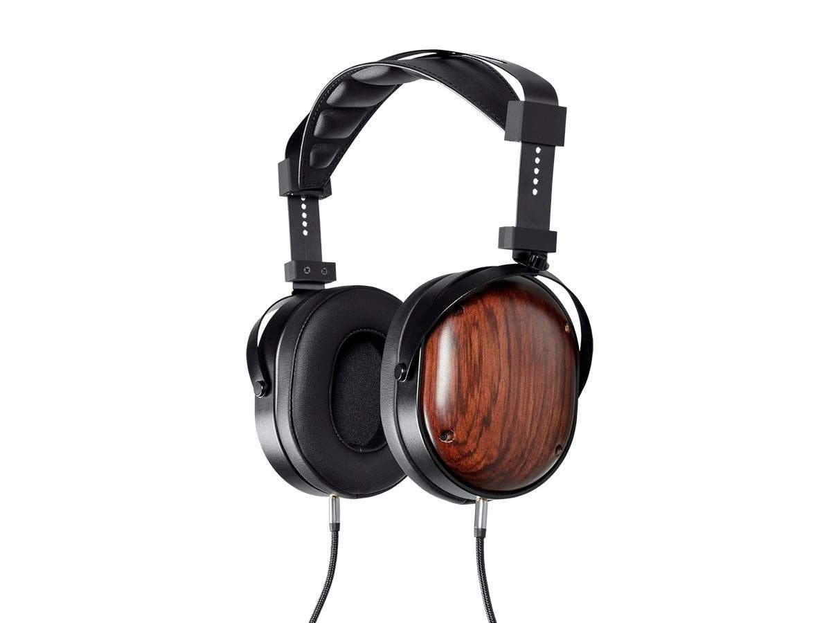 Monolith M565C Over Ear Planar Magnetic Headphones - Black/Wood With 106mm Driver, Closed Back Design, Comfort Ear Pads For Studio/Professional by Monoprice