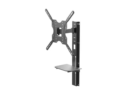 Full Motion Wall Mount Bracket with height adjustment Support Shelf for Medium 81cm~139cm TVs up to 66 lbs Main Image