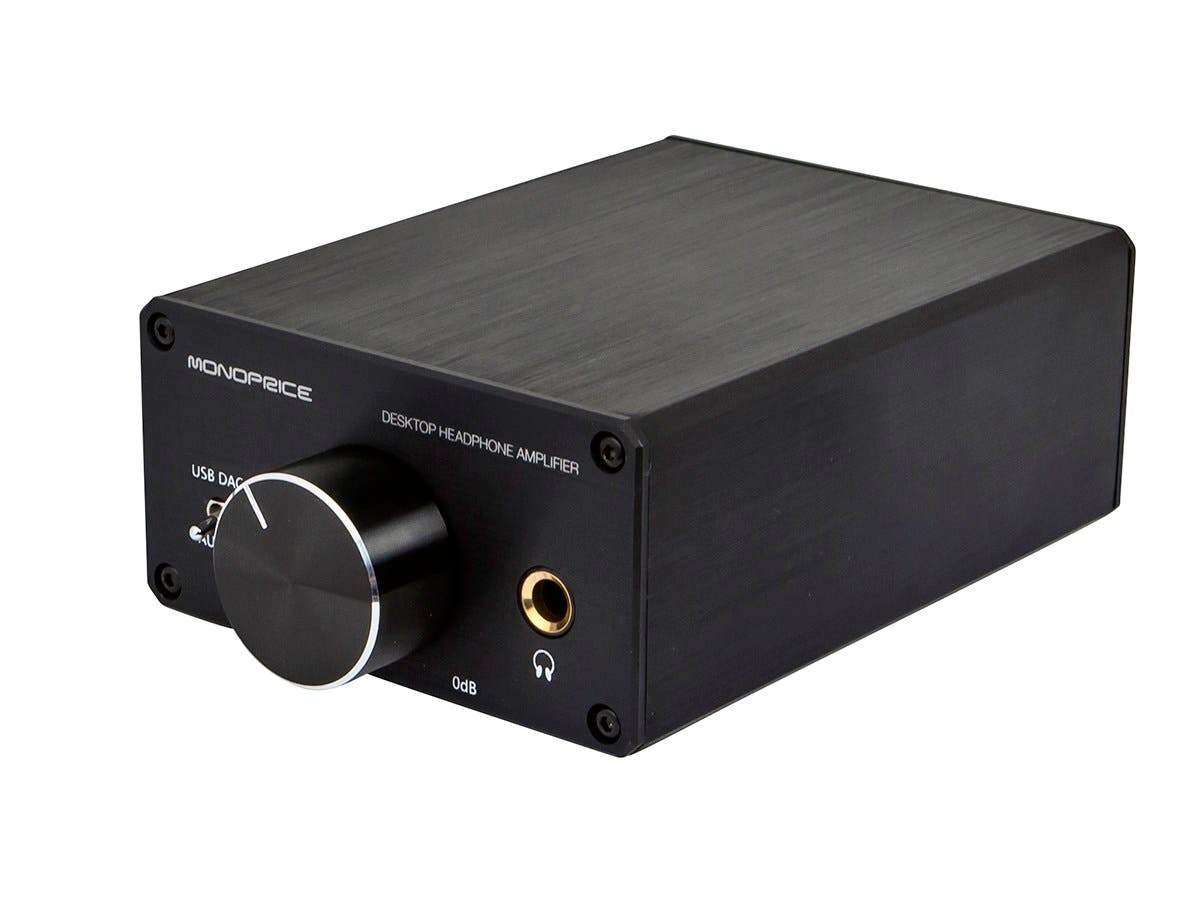 UK Desktop Headphone Amplifier by Monoprice
