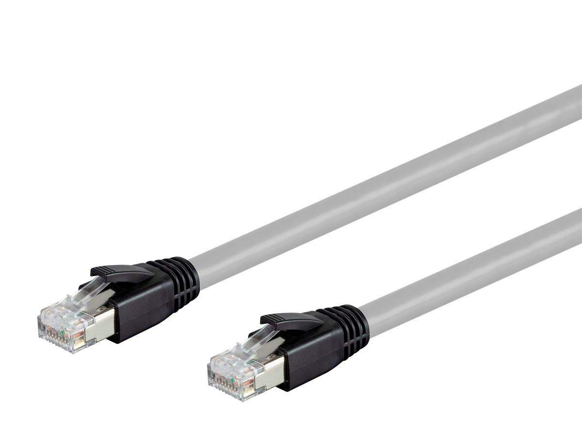Entegrade Series Cat8 24AWG S/FTP Ethernet Network Cable  2GHz  40G by Monoprice