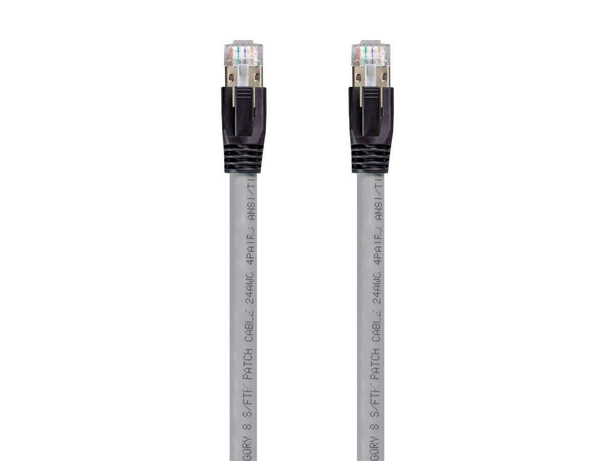 Monoprice Entegrade Series Cat8 24AWG S/FTP Ethernet Network Cable  2GHz  40G