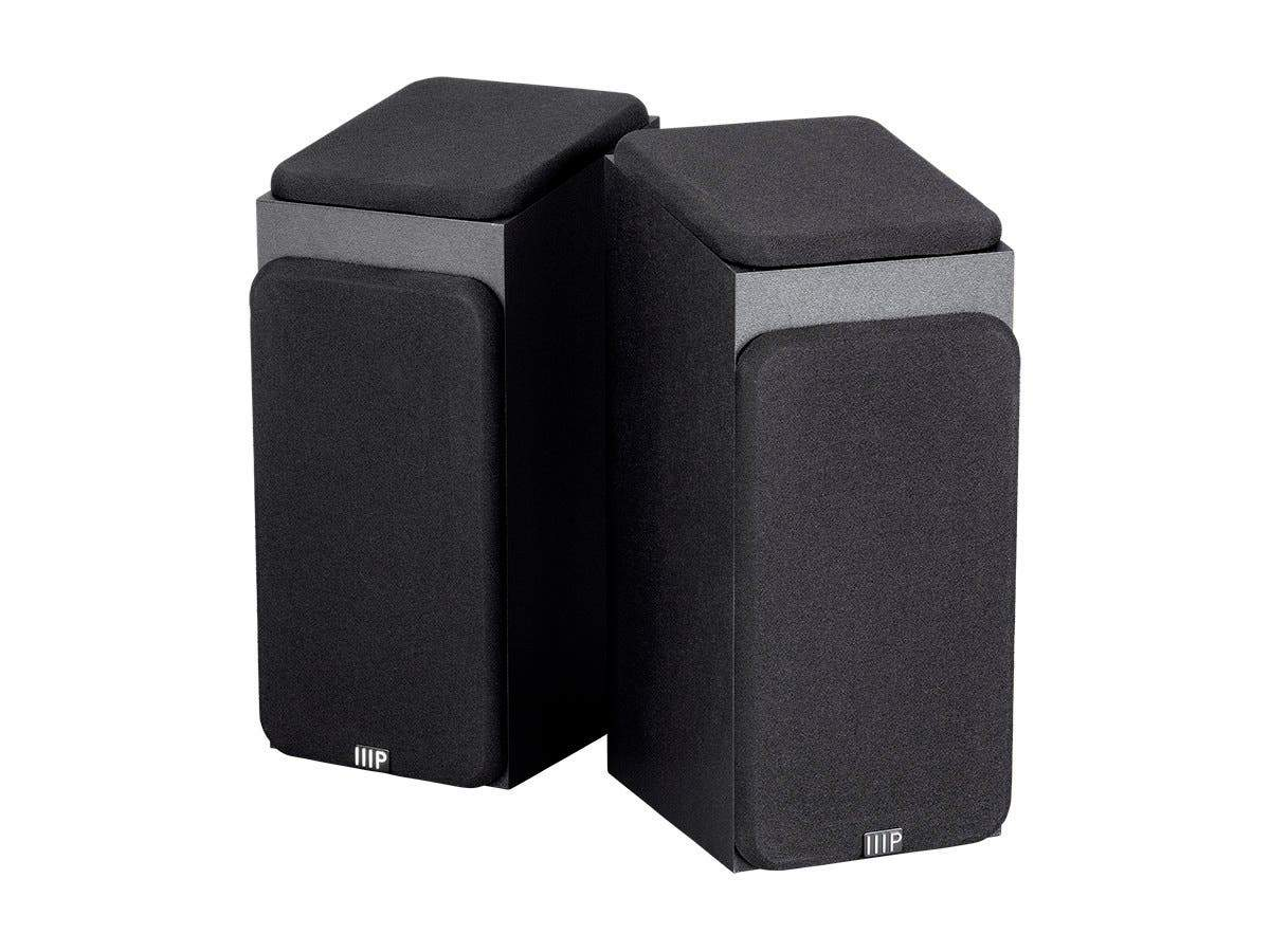 Premium Immersive Satellite Speakers  Pair by Monoprice