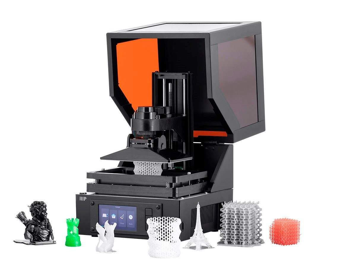 MP Mini SLA LCD High Resolution Resin 3D Printer EU/UK by Monoprice