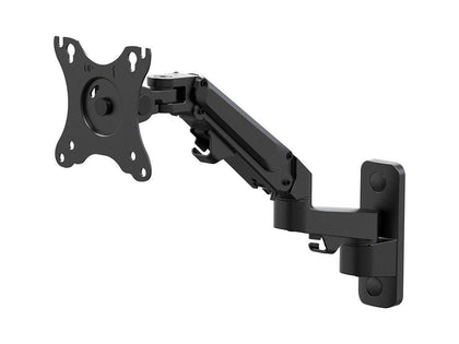Monoprice 2-Segment Wall Mount For Monitors Up To 68cm | Adjustable Gas Spring - Workstream Collection Main Image
