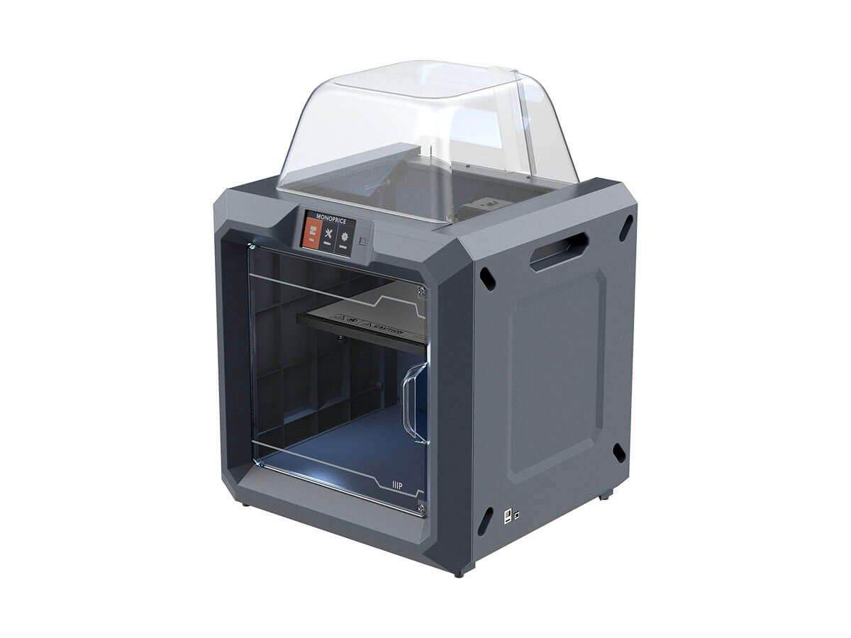 MP Fully Enclosed 300 3D Printer  Easy Wi-Fi  Touch Screen  Large Build Size  Assisted Leveling (Open Box)