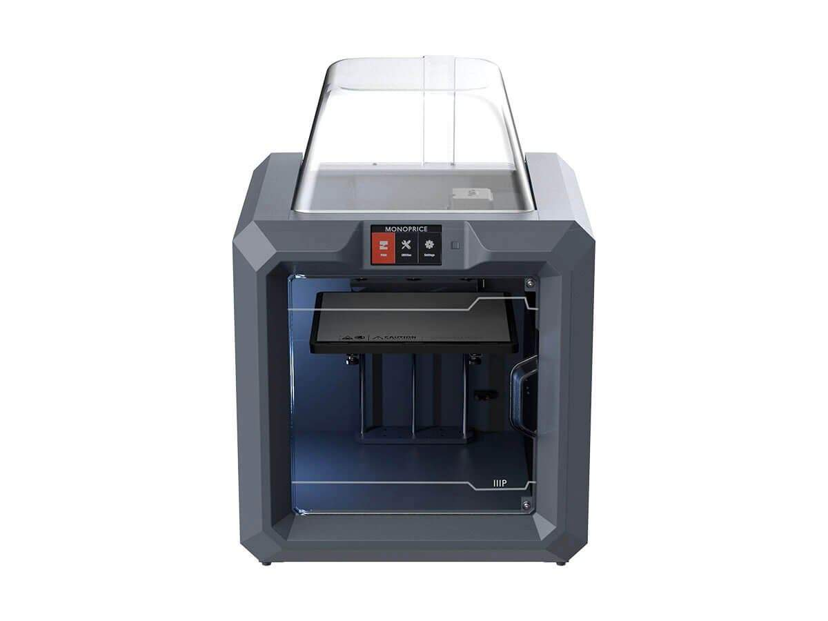 MP Fully Enclosed 300 3D Printer  Easy Wi-Fi  Touch Screen  Large Build Size  Assisted Leveling by Monoprice