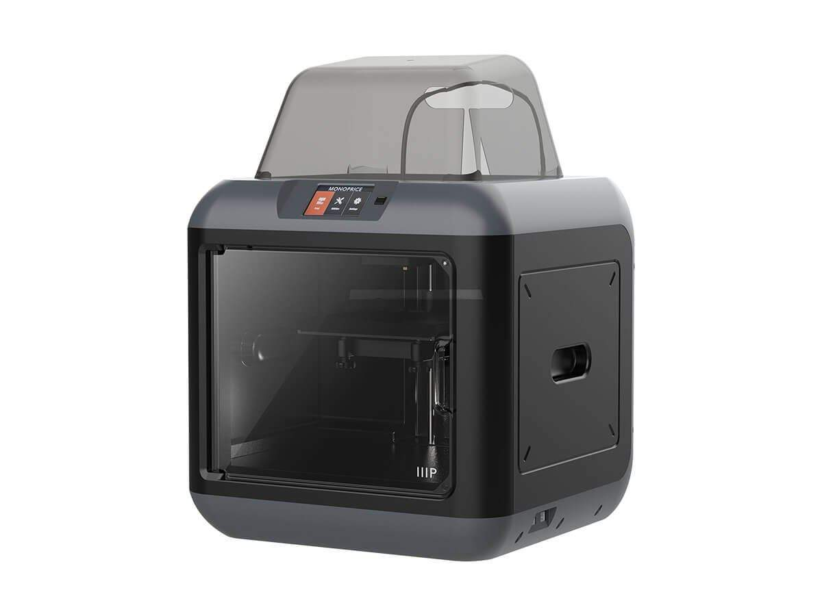 MP Fully Enclosed 150 3D Printer  Ultra Quiet  Assisted Leveling  Easy Wi-Fi  Touch Screen (Open Box)