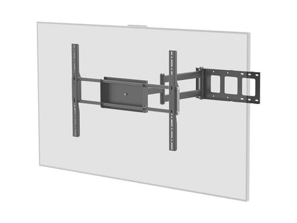 Monoprice Corner Friendly Full-Motion Articulating TV Wall Mount Bracket For TVs 37in to 70in  Max Weight 110lbs  Extension Range of 5.5in to 28.3in  VESA Patterns Up to 700x500 Main Image