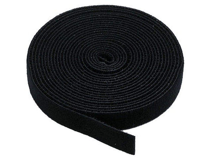 Monoprice Hook and Loop Fastening Tape, 5 yards/roll, 0.75 in (4.5 m/roll, 1.9 cm)